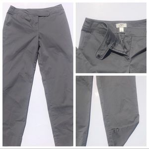 Just in! LOFT gray cropped pants